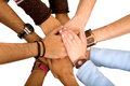 Hands of cooperation Royalty Free Stock Photography