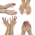 The Hands of an Energy Healing Practitioner Royalty Free Stock Photo