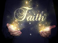 Hands faith concept Royalty Free Stock Photo