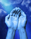 Hands Help Religion Abstract Royalty Free Stock Photo