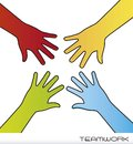 Hands vector Stock Image