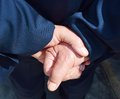 Hands and wisdom Royalty Free Stock Photo