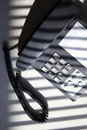 Handset in business office room Stock Image