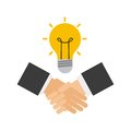 Handshake business done deal Royalty Free Stock Photo