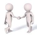 Handshake meeting people