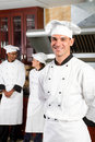 Handsome chef Royalty Free Stock Image