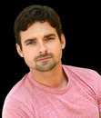 Handsome italian man nice isolated image of a Royalty Free Stock Photography