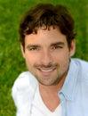 Handsome italian man nice outdoor image of a Stock Photos