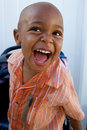 A Handsome little African American Boy Royalty Free Stock Photo