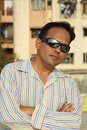 Handsome man in sunglasses Stock Photo