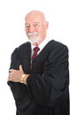 Handsome Mature Judge Stock Photo