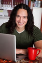 Handsome Native American man Royalty Free Stock Photo