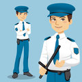Handsome Police Man Stock Photos