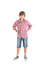 Handsome teen boy Royalty Free Stock Photos