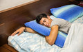 Handsome young man sleeping Royalty Free Stock Photo
