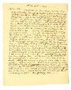 Handwritten Letter of 1819