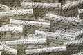 Handwritten notes photo close up Stock Images