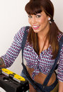 Handy Woman Royalty Free Stock Image