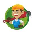 Handyman carrying adjustable
