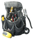 Handyman Contractor Worker Tool Belt Isolated Royalty Free Stock Photo