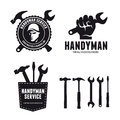 Handyman Labels Badges Emblems...