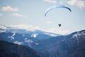 Hang Glider in Valley