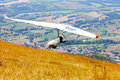 Hang gliding competitions in Italy Stock Photography