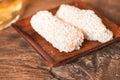 Hang wa korean traditional snack dessert Royalty Free Stock Photography