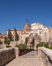 The Hanging houses of Cuenca Royalty Free Stock Photo