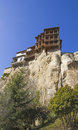 Hanging houses, Cuenca Royalty Free Stock Photo