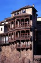 Hanging Houses, Cuenca, Spain. Royalty Free Stock Images
