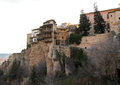 Hanging houses of Cuenca, Spain Royalty Free Stock Photo
