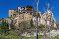 Hanging houses, Cuenca, Spain Royalty Free Stock Photo