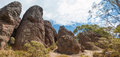 Hanging Rock, Mount Macedon Ranges Royalty Free Stock Photo