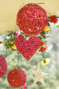 Hanging vine ornaments Stock Images