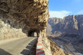 The hanging wall highway Royalty Free Stock Photo