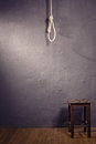 Hangman noose with loops Royalty Free Stock Photo