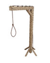 Hangman's gibbet Royalty Free Stock Images
