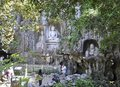 Hangzhou, 3rd may: Buddha stone carved statues from Feilai Feng grottoes in Hangzhou