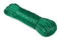 Hank of green rope Royalty Free Stock Images