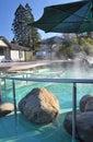 Hanmer Springs Spa Tourist Resort, New Zealand Stock Image