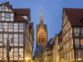 Hanover Altstadt Royalty Free Stock Images