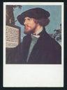 Hans Holbein Portrait of Bonifacius Amerbach