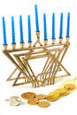 Hanukah Still Life 1 Royalty Free Stock Photo