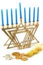 Hanukah Still Life 1 Royalty Free Stock Photo