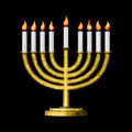 Hanukkah and all things related Stock Photography