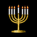 Hanukkah and all things related Royalty Free Stock Images