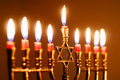 Hanukkah Candles Royalty Free Stock Images