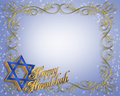 Hanukkah Card background Royalty Free Stock Photography
