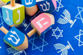 Hanukkah a still life composed of elements of the jewish chanukah festival Stock Image